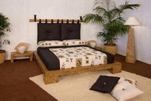 camera da letto stile etnico