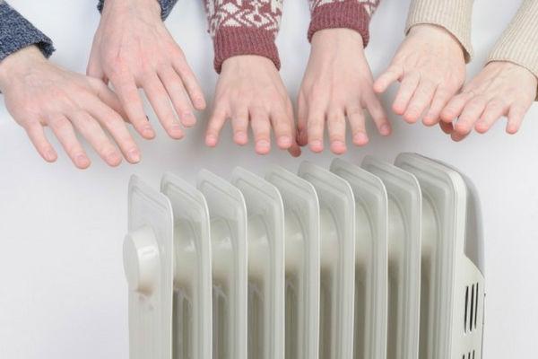 radiatore elettrico in alluminio