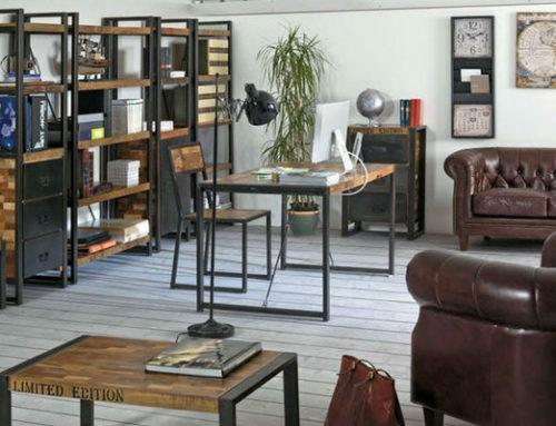 Stile Industrial – dall'open space a casa tua