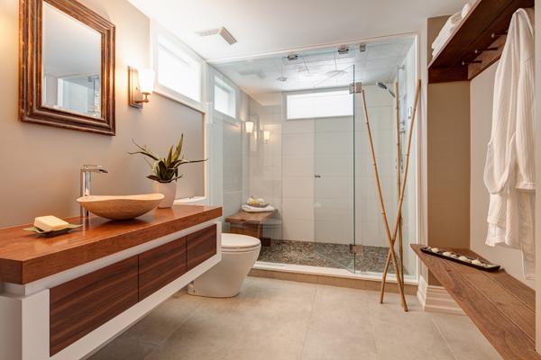 Arredamento zen bagno armonioso e rilassante vitale - Bagno stile zen ...