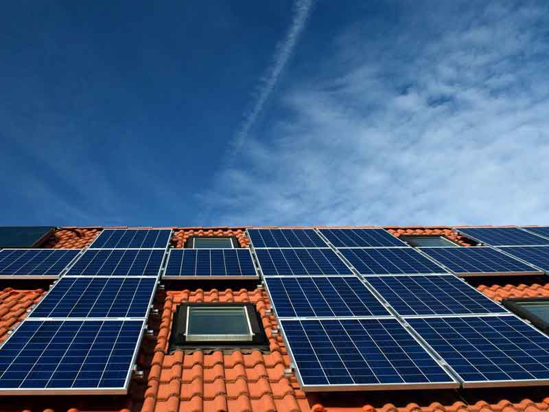 Pannelli solari installati grazie alla detrazione fiscale ecobonus