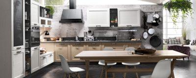 Cucina in stile classico della collezione York di Stosa Cucine