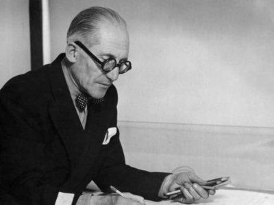 Foto raffigurante Charles Édouard Jeanneret Gris, in arte Le Corbusier