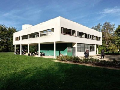 Villa Savoye progettata da Le Corbusier