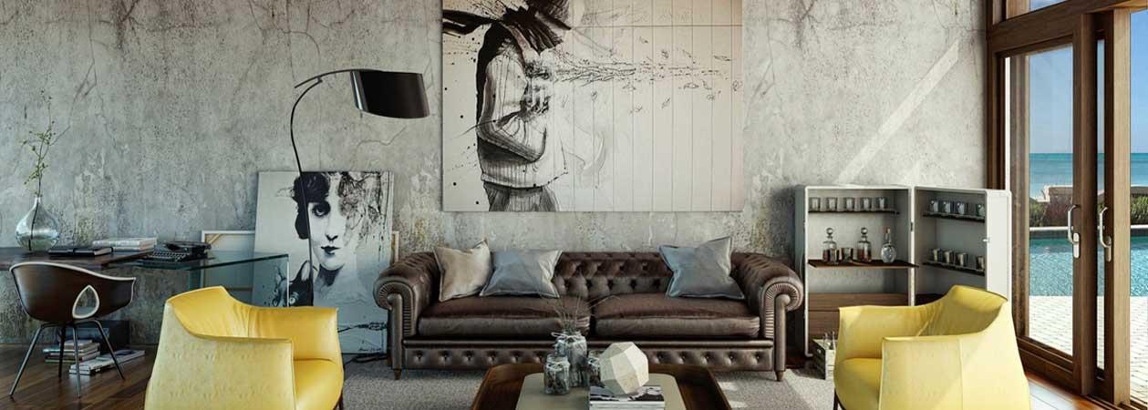 Come arredare il proprio soggiorno in stile industriale
