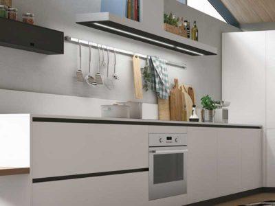 Vista di una cucina in stile moderno della collezione Color trend di Stosa Cucine