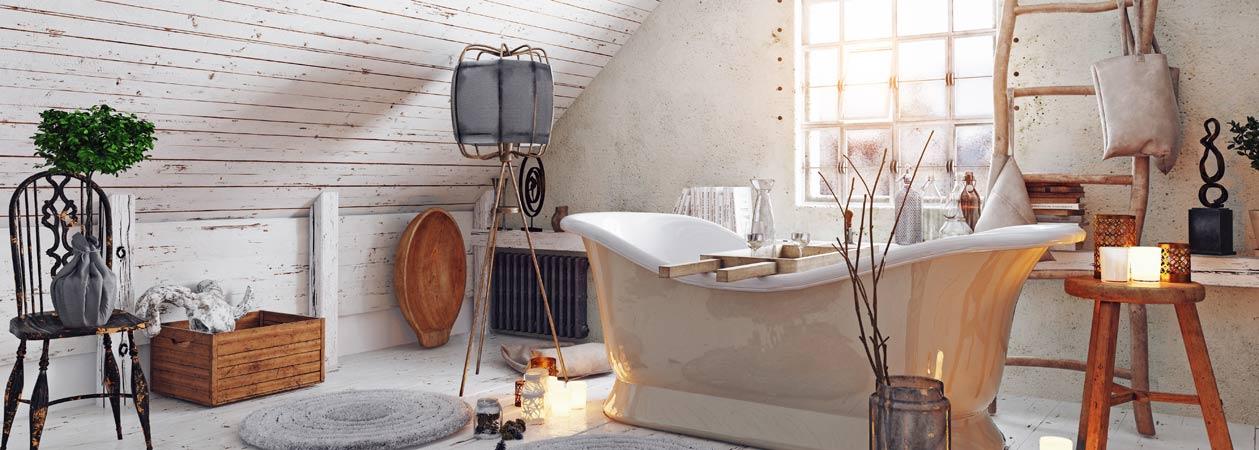 Come arredare il tuo bagno in stile shabby chic