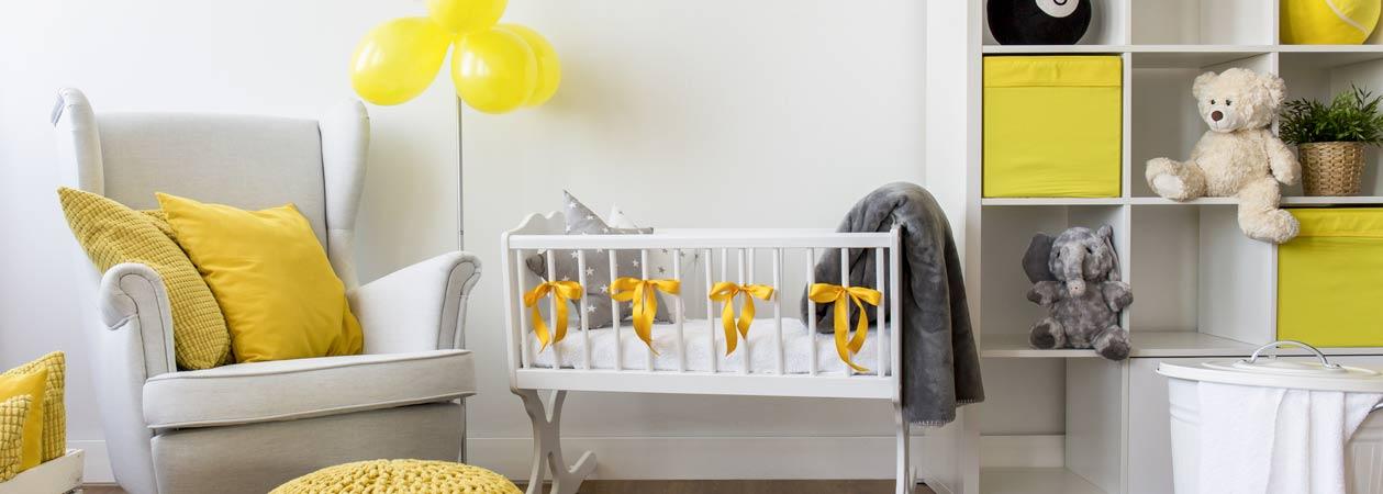 Come arredare la cameretta del proprio neonato: ecco i nostri consigli