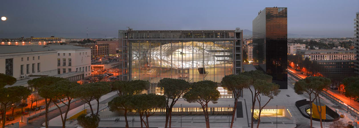"Il Roma Convention Center: la ""Nuvola"" di Massimiliano Fuksas"