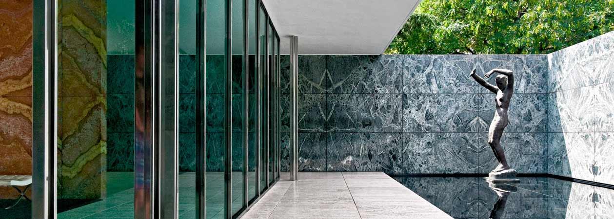 Il Padiglione di Barcellona: il simbolo della concezione strutturale di Ludwig Mies van der Rohe