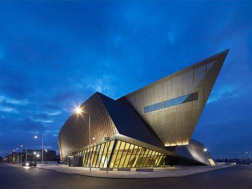 Centre de congrès, l'opera di Daniel Libeskind a Mens