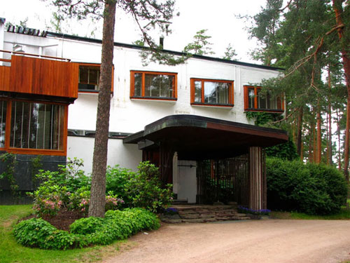 Villa Mairea progettata da Hugo Alvar Henrik Aalto