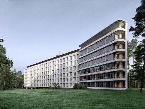 Sanatorio di Paimio progettato da Alvar Aalto