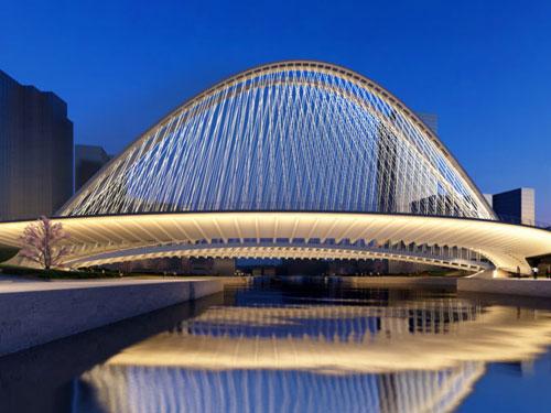 Foto di uno dei ponti progettati da Calatrava