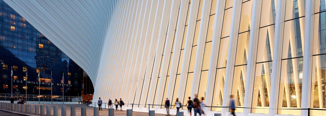 World Trade Center Transportation Hub – PATH: la colomba bianca di Calatrava