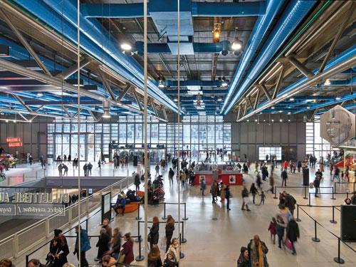 Centro Georges Pompidou, Parigi