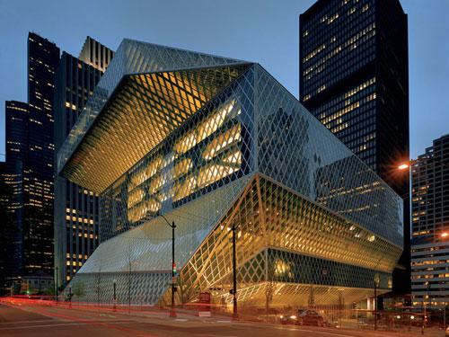 Biblioteca centrale di Seattle: un'opera rivoluzionaria