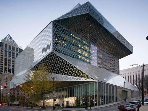 Biblioteca di Seattle, flessibilità degli spazi per un'opera fuori dagli schemi