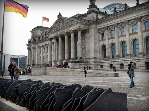 Entrata principale del Palazzo del Reichstag