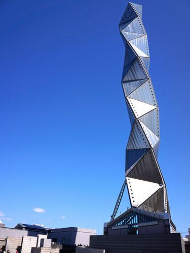 Visuale completa dell'Art Tower Mito