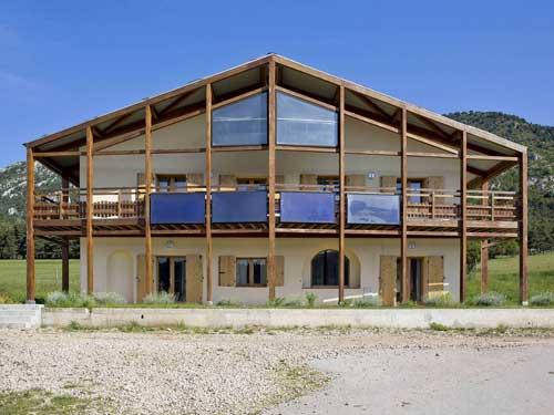 Villa progettata in architettura bioclimatica