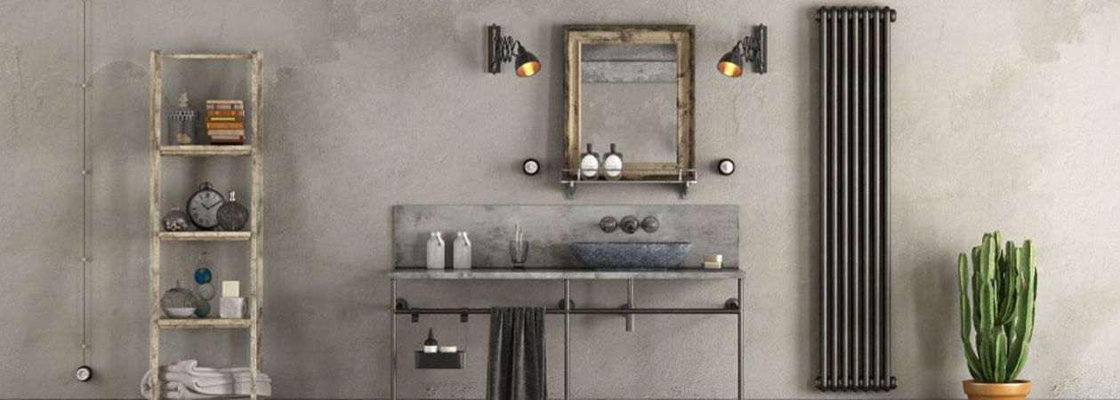Come arredare il proprio bagno in stile industriale