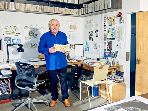 Steve Holl, Architetto nel suo ufficio